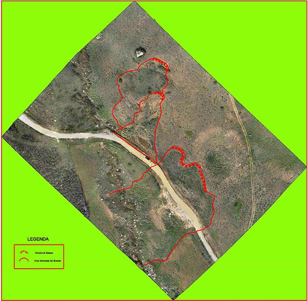 fotointerpretazione aerea del dissesto con drone