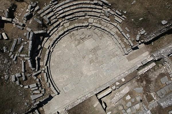 indagine termografica drone radiocomandato sito archeologico